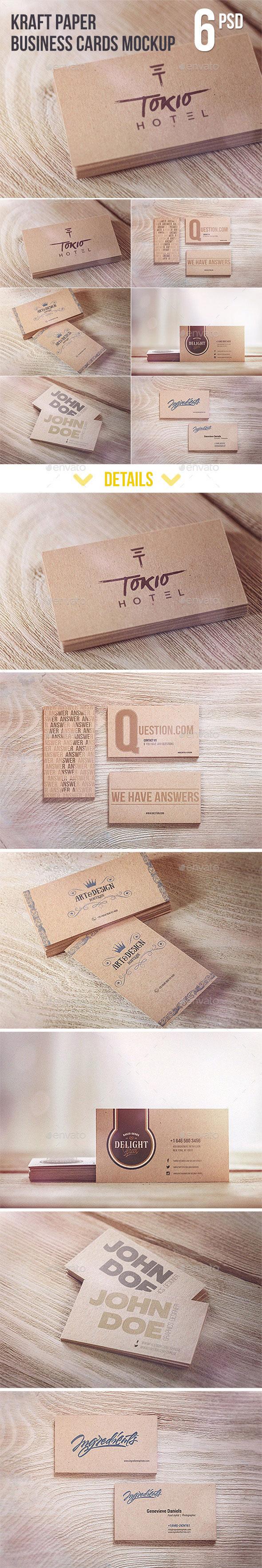 Graphicriver-Kraft-Paper-Business-Cards-MockUp-11406178