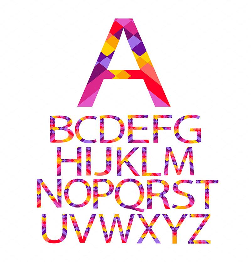 alphabet-color-rainbow-o