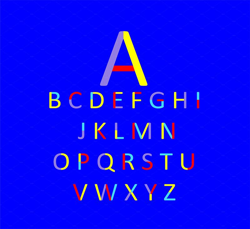flat-alphabet-colored-blue-o