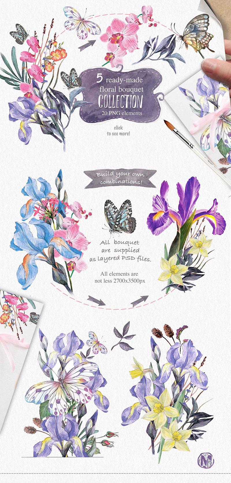 iris-bouquet-o