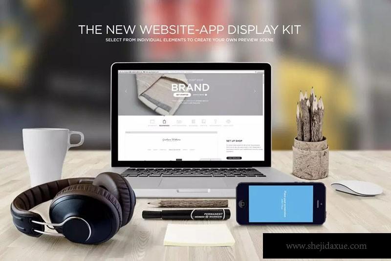 预览式网页设计响应方案套件ResponsiveMoc如何做家装设计样机图片