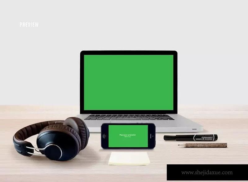 预览式网页设计响应套件样机ResponsiveMoc如何绘制一个a3视口图片