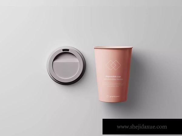 面包标签模板_7个咖啡纸杯定制外观设计效果图样机模板 7 Coffee Cup Mockups – 大 ...