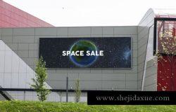 各种场景的房地产户外广告吊旗路旗advertising-space-mock-up-bundle