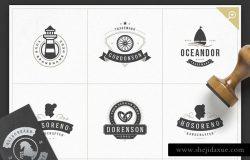 1000+复古风格Logo&徽章模板 1000 Logos and Badges Bundle