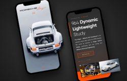 汽车APP界面设计 Car App Design 每日UI源文件分享