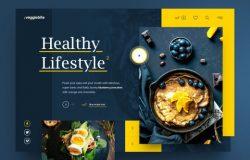 食品餐饮APP界面设计 Food App Design 每日UI源文件分享