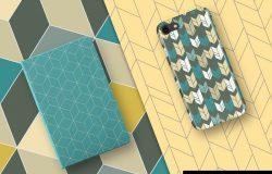漂亮实用的无缝几何图案素材
