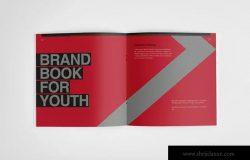 多彩品牌手册画册设计模板 The Colorful – Brand Book Template