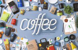 一套咖啡/餐厅精美样品PSD素材