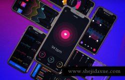 迄今为止最全的iPhone XS UI样机展示模型iphone-xs-v-1