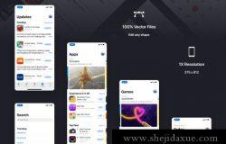 疑官方流出!最新全套苹果iOS12 GUI KIT设计套件源文件