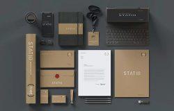 多用途静态摆设企业品牌工艺纸板样机