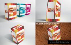 包装盒样机模板 Packaging Mock-ups
