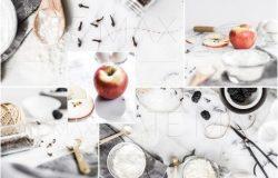 苹果高汤烘烤照片 Baking With Apples Stock Photo Bundl