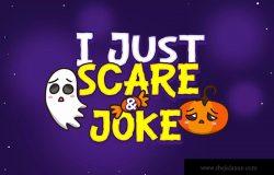 万圣节节日氛围英文艺术字体下载 Gloomy Hallowee