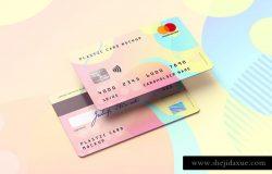 会员卡/银行卡/信用卡样机模板