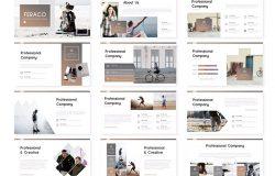 中小型企业/工作室团队成员介绍PPT模板