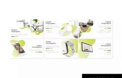 室内设计企业介绍PPT幻灯片模板 Mumo – Powerpoint Template