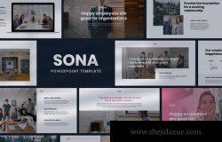 简约好用的高品质商业商务质感powerpoint幻灯片演示模板