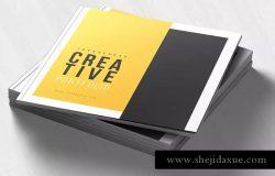 优雅产品设计产品目录设计模板 Elegant Portfolio Template