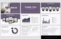 企业服务介绍PPT幻灯片模板 BATAGOR – Powerpoint Template