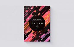 Zayna音乐派对海报传单模板 Zayna Flyer / Poster Template