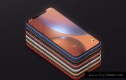 高品质iPhone XR智能设备样机 Phone XR Mockup