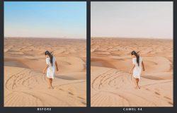 20款高级质感沙漠系列LR预设滤镜