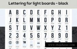 大帐篷灯泡装饰金属字体场景模板 Marquee Light Bulbs Front 3 – Cinema Lightbox