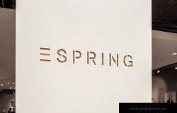 室内店铺品牌3D立体商标Logo效果图样机#2 3d Logo Sign Mockup