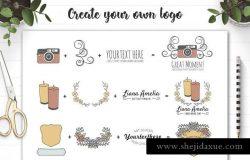 工艺品品牌Logo设计工具包
