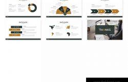 公司介绍/业务展示Keynote演示文稿模板 Nordic – Keynote Template