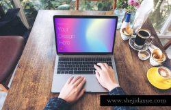 高雅干净利落笔记本电脑MacBook Pro样机 Elegant & Clean Macbook Pro Mockups