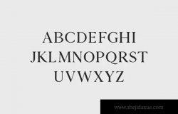 版式设计必备的现代优雅衬线字体家族 Zimra Serif Fonts Family Pack