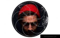 12个几何图形背景PSD分层模板素材 Instagram Textured Geometric Masks