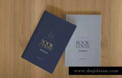 精装硬封图书外观&内页版式设计样机 Hardcover Book Mock-Ups