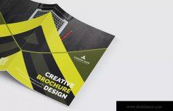 产品手册/企业简介画册设计模板 Bifold Brochure