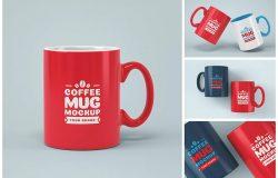 标准11盎司咖啡杯品牌设计预览样机 Coffee Mug Mockup Set