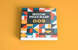 图书书籍封面设计样机模板
