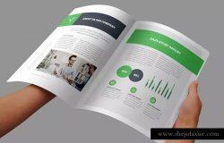 高端品牌企业宣传杂志/画册/商业提案设计模板 Brochure
