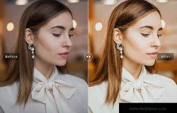 褪色/明亮/柔和色调&强对比度&暖色调Lightroom预设 Tiramisu Mobile & Desktop Lightroom Presets