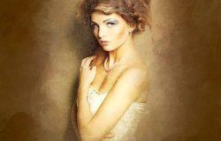 文艺复兴时期油画作品风格一键生成PS动作 Renaissance CS3+ Photoshop Action