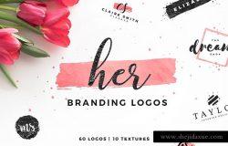 女性品牌Logo模板合集