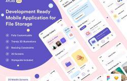 文件管理App应用iOS UI套件