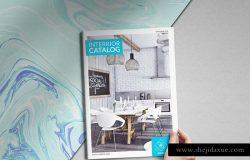 现代生活时尚家居装饰手册模板