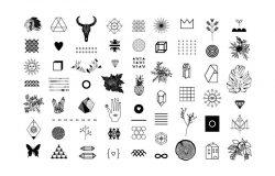 不规则抽象时尚图标合集包 TOKENS. 117 #1415814