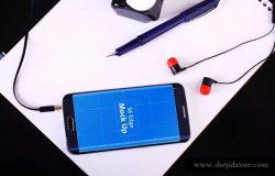 三星智能手机S6 Edge展示样机