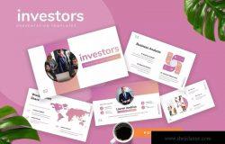 投资者初创企业路演PPT模板素材 Investors – Startup Powerpoint Presentation