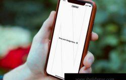 真实使用场景的手持iPhone X样机APP设计展示样机下载